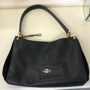 Coach Mixed Media (Leather & Suede) Pocketbook